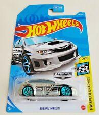 Hot Wheels Subaru WRX STI ZAMAC Silver #68 68/250 2021 HW Speed Graphics 2/10