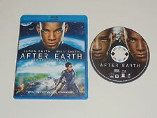 After Earth (Blu-ray Disc, 2013) Will & Jaden Smith Rated PG-13 movie