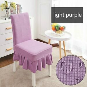 Waterproof Skirt Dining Table Chair Cover Restaurant Chair Skirt Cover stool New