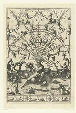 Hieronymus Cock 16th Century Fantasy 7x5 Inch Reprint Print
