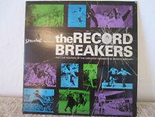 "Vintage Sports 33 1/3rpm Record Album "" The Record Breakers"""