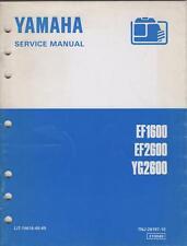 1995 YAMAHA  PORTABLE GENERATOR SERVICE MANUAL