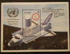 R29.Briefmarken Raumfahrt Space 1992 Grenada Bl.,postfrisch