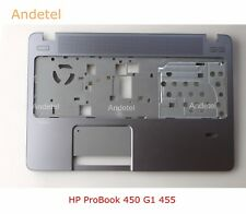 New Palm Rest For HP ProBook 450 G1 455 G1 Palmrest Touchpad C Shell 721951-001