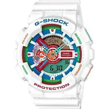 Casio G Shock Big Case White Water Resistant Watch Multi Color GA110MC-7A