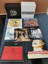 RADIOHEAD - Limited Edition Deluxe 7 CD Album Box Set