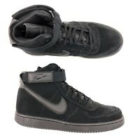 Nike Vandal High Supreme Leather Triple Black John Elliot Men Size US