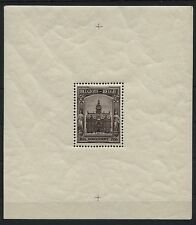 Belgien Belgium 1936 Block 4 postfrisch ** MNH Souvenir Sheet