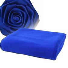 New Absorbent Microfiber Dry Bath Beach Towel Wash cloth Swimwear Shower Blue UP