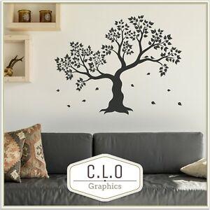 Huge Tree Wall Sticker Vinyl Transfer Home Decor Decal Beautiful Art Graphic UK