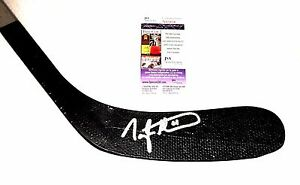 Taylor Hall Signed Boston Bruins Stick JSA COA Early Windsor Spitfires OHL Auto