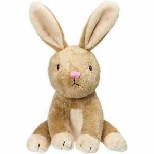 Baby Bobtail Bunny Rattle Plush Toy by Suki Gifts 14cm