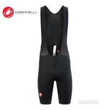 Castelli Cento Bib Shorts Cycling Padded Bibshorts : Black