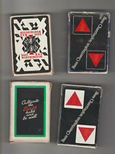 More details for 4x more  packs bass burton  brewery  playing cards    packs.