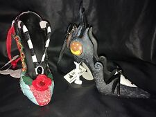 NEW DISNEY PARKS JACK And SALLY NIGHTMARE BEFORE CHRISTMAS SHOE ORNAMENT