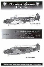 CLASSIC AIRFRAMES 1/48 Lockheed Hudson mk. III / mk.vi #d48003