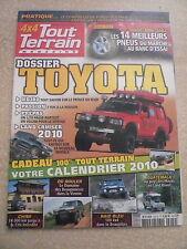 4X4 TOUT TERRAIN  n° 244  Dossier TOYOTA. 14 meilleurs pneus du marché.