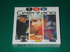 Adriano Celentano tre box 2 cd + 2 dvd