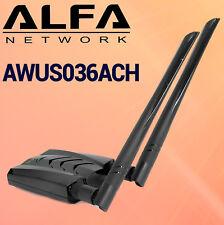 Alfa Network AWUS036ACH USB 3.0 WIFi AC Largo alcance Alta potencia banda dual