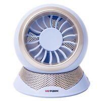 VRPARK Mini Ventilateur USB Bureau à Domicile Ion NéGatif Petit Ventilateur E2X5