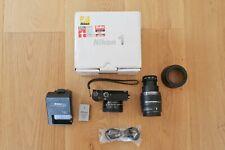 Nikon 1 J5 20.8MP Digitalkamera  mit VR 10-30mm + 30-110mm Objektiv