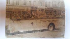 ELITE BEROLINA RUNDFAHRTEN BERLIN 1936 ANSICHTSKARTE POSTKARTE AUTOMOBIL