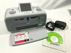HP Photosmart A616 Digital Photo Inkjet Printer With Power Cord and Software