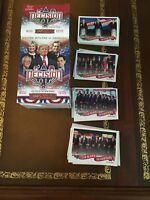 2016 Decision Debates Political Trading Cards Blaster Box Donald Trump