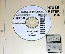 HP 435A Power Meter + Power Sensor Ops/Servicemanuals