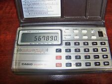 Vintage CASIO Melody - 80 Musical Electronic Calculator w/Case