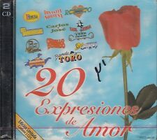 Banda Toro Raul Ortega Dinastia Nortena 20 Expresiones De Amor  2CD New Sealed