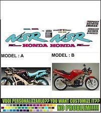 kit adesivi stickers compatibili nsr 125 fl 1990 jc20
