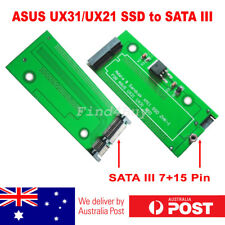 Sandisk SDSA5JK ADATA XM11 SSD for Asus UX31 UX21 to SATA 3 III Adapter Card