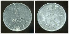 DANEMARK  1 ore 1964  zinc  ( bis )