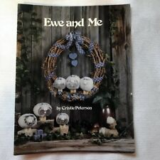 Ewe And Me Tole Painting Book instruction pattern Acrylic OOP Christie Peterson