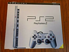 SONY PLAYSTATION 2 SLIM CONSOLE SATIN SILVER, SCPH-70003SS, UK PAL, NEW/UNOPENED