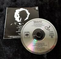 Audio CD - BOB DYLAN's Greatest Hits 1999 - Good (G) WORLDWIDE CP