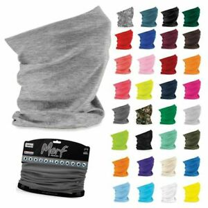 Face Mask Snood Beechfield Morf Washable Scarf Breathable Cover Protection