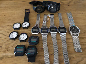 Job Lot Of Mixed Casio Watches. (3)
