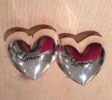 More details for 2 vintage lanson champagne napkin serviette ring heart wedding breakfast dinner