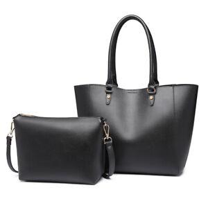 Handtaschen 2 Stück Set Damen Umhängetasche Designer Schultertasche Hobo Taschen