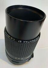 Pentax 6x7 67 SMC PENTAX 200mm f/4 Lens GREAT CONDITION