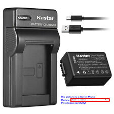 Kastar Battery Slim USB Charger for Panasonic DMW-BMB9 & Panasonic Lumix DC-FZ80