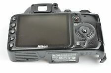 NIKON D3100 Rear Cover with LCD + Card Door REPAIR PART NO REAR RUBBER EH2543