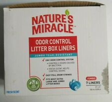 Nature's Miracle Odor Control Jumbo Litter Box Liners drawstring Odor Control