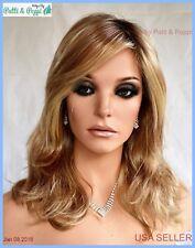 Statement Piece Lace Front Heat Friendly Monotop Wig Raquel Welch SS1488 Golden