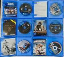 (6) Game Lot of PS4 Games! Battleborn BF 4 Destiny Taken King The Division Morro