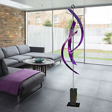 Large Purple Metal Indoor/Outdoor Abstract Yard Art Sculpture by Jon Allen
