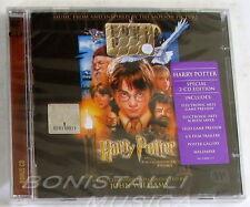 HARRY POTTER AND THE PHILOSOPHER'S STONE - SOUNDTRACK O.S.T. - 2 CD Sigillato