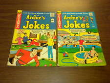 ARCHIE'S JOKES #33 and #154 lot BETTY/VERONICA Archie Giant Series 1965-1968